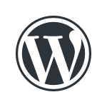Icon of WordPress, WP